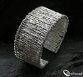 925 Sterling Silver Layered Cuff