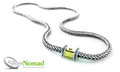 925 Sterling Silver Nomad Squared Link Necklace