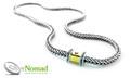925 Sterling Silver Nomad Squared Link Necklace