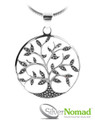 925 Sterling Silver Nomad Tree of Life Pendant