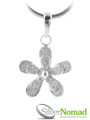 925 Sterling Silver Nomad Forget-Me-Not Pendant