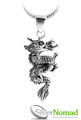 925 Sterling Silver Nomad Dragon Pendant