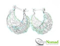 925 Sterling Silver Nomad Nest Drop Earrings