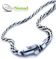925 Sterling Silver Nomad Funky Loop Necklace