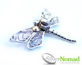 925 Sterling Silver Nomad Dragonfly Brooch
