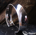925 Sterling Silver Nomad Subtle Contemporary Cuff