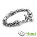 925 Sterling Silver Medusa Bracelet