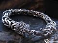 925 Sterling Silver Nomad Byzantine Bracelet