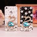 Iphone5/5S水晶钻石保护壳--透明天鹅