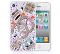 Iphone4/4S水晶钻石保护壳--梦幻水晶
