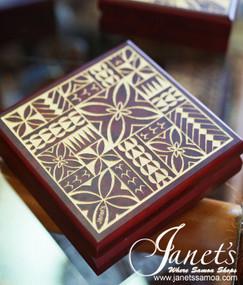 Engraved Pacific Box S CC39-Motif