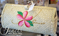 Laufala painted Clutch CW64-white