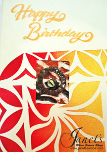 Happy Birthday Samoa Card MI08