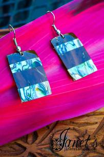 Coconut Earring w/ Paua JIP07