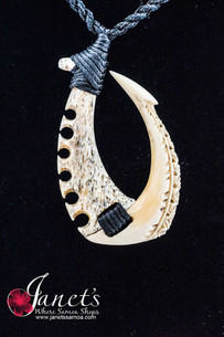 Whale Hook Bone and Ivory BRPW52