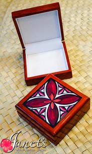 Samoan Tile Box CC30-Motif