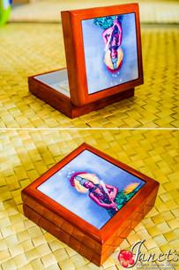 Samoan Tile Box CC30-Taupou