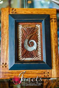 Framed Samoan Hook BRF104