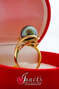 Tahitian Pearl Ring JFGR02