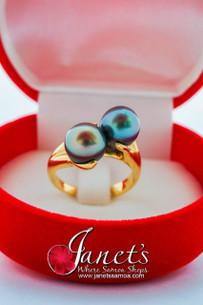 Tahitian Pearl Ring JFGR05