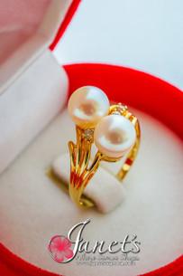 Tahitian Pearl Ring JFGR21