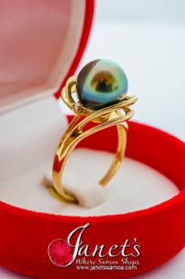 Tahitian Pearl Ring JFGR26
