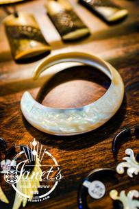 Trochus Shell Bracelet JISB15