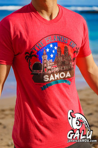 Galu T-Shirt - Islands of Samoa