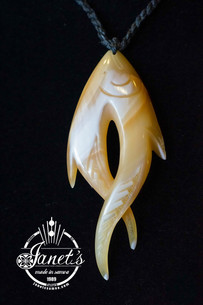 Fish Head Pendant BRPS199