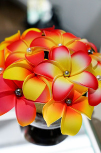 Janet's Samoa Pearl Sei Hair Flower