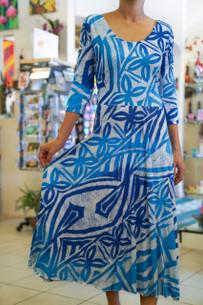 Janet's KALOLO DRESS BLUES