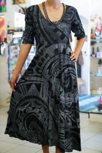 Janet's KALOLO DRESS SILVER