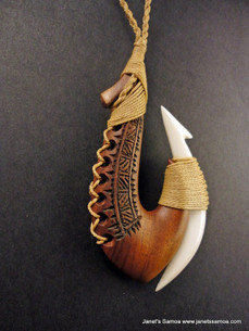 Pacific Wood Pendant BRPWD09