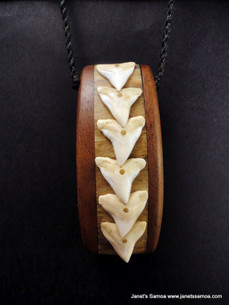 Pacific Wood Pendant BRPWD13