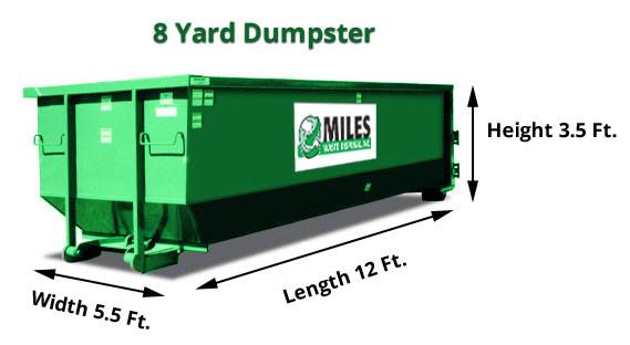 8 Yard Dumpster