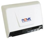 World Dryer Nova 2 Aluminum White commercial hand dryer