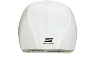 World Dryer Electric-Aire LN Aluminum White commercial hand dryer