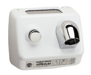 World Dryer AirStyle Model B DB-974 Steel White commercial hair dryer
