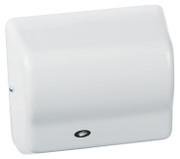 American Dryer Global GX1-M White Steel washroom hand dryer
