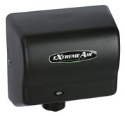 American Dryer eXtremeAir GXT9-BG Steel Black Graphite restroom hand dryer