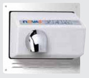 World Dryer Nova 5 Optional Recess Kit for the Nova 5 Hand Dryers - 37-058589 - Chrome, Steel