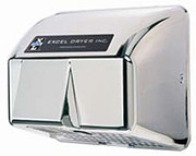 Excel Dryer Cast Hands Off HO-IC Automatic Chrome 120 Volt Hand Dryer