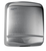 OPTIMA Series M99ACS Automatic Stainless Steel Satin Hand Dryer from Saniflow - Surface Mounted Design