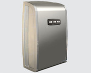 ONE Series C-100220004 Cast Zinc and Brushed Stainless Steel Automatic ADA Hand Dryer from Comac - Universal Voltage, Surface Mounted Design