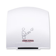 Galaxy Alpine White ABS Polycarbonate Hand Dryer from Stiebel Eltron - Automatic Touchless Surface Mounted Ultra Quiet Design