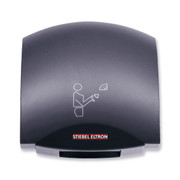 Galaxy M Charcoal Gray Aluminum Hand Dryer from Stiebel Eltron - Automatic Touchless Surface Mounted Ultra Quiet Design