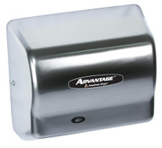 AD90-SSH brushed stainless steel Advantage series by American Hair Dryer is perfect for any fitness center