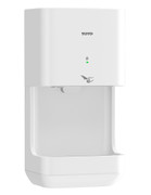TOTO HDR101#WH White Clean Dry High Speed Hand Dryer