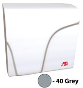 ASI Profile 0165-40 Hand Dryer is grey, with Universal Voltage and is ADA compliant.