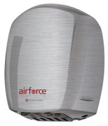 J-973 Automatic Brushed Stainless Steel Airforce from World Hand Dryer